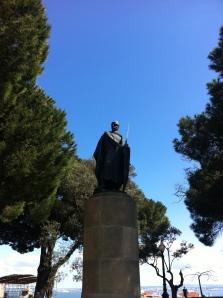 King Afonso Henriques.