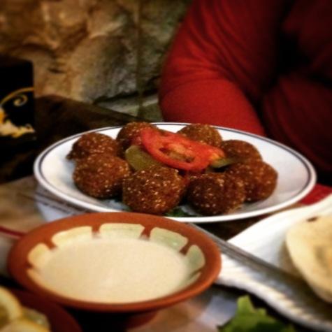 Falafel (Lebanese food).